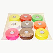 JVCC Gaff-Color-Pack Gaffers Tape Multi-Pack: 1 in. x 60 ft. 9 Rolls/Pack (Fluorescent Green, Fl. Orange, Fl. Pink, Fl. Yellow, Brown, Grey, Red, White, Yellow)