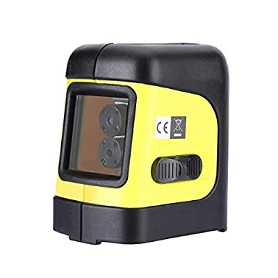 Firecore Self-Leveling Horizontal/Vertical Cross-Line Laser Level with Magnetic Bracket( not Include 2AA battery)