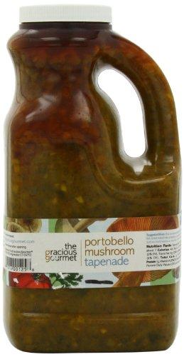 Pasta Portabella Mushroom (The Gracious Gourmet Portobello Mushroom Tapenade, 76-Ounce)