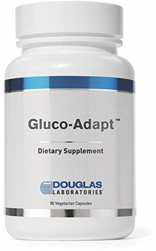 Douglas Laboratories - Gluco-Adapt (Formerly Gluco-Mend) - Blend of Herbs, Minerals and Alpha Lipoic Acid (ALA) to Provide Healthy Blood Glucose Support*- 90 Vegetable Capsules