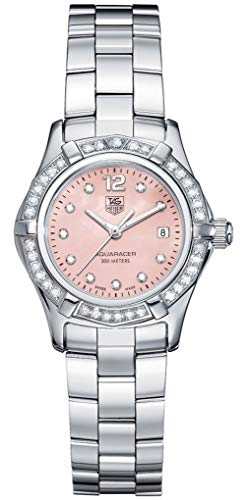 Tag Heuer Aquaracer MOP Diamond Ladies Watch WAF141B.BA0824 Wrist Watch (Wristwatch)