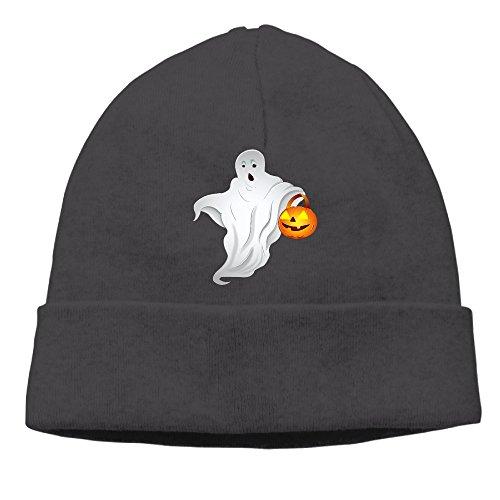 ElishaJ Unisex Halloween Beanie Cap Hat Ski Hat Cap Skull Cap Black (Halloween Jon Bellion)