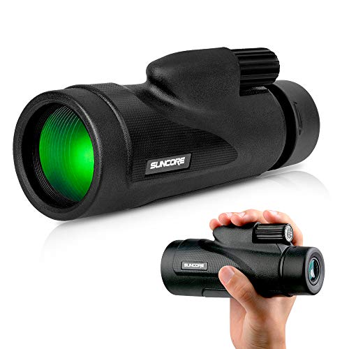 Monocular Telescope with Low Night Vision - Evershop High Power Monoculars for Adults and Kids for Bird Watching Hunting Camping Travelling Wildlife Secenery