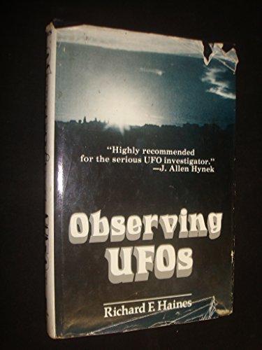 Observing Ufos: An Investigative Handbook