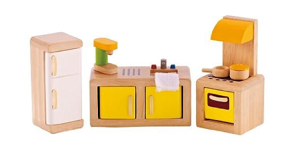Amazon.com: Hape – Casa de Muñecas de muebles Juego de ...