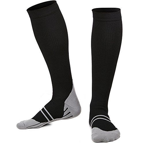 GT COMPRESSION SOCKS FOR WOMEN & MEN – Stockings for Fitness and Everyday Life – L/XL