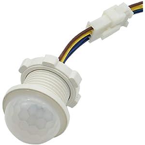 Luz infrarroja, sensor de movimiento PIR, interruptor de distancia, luz de tiempo,