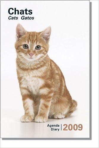 2009 Pocket Diary Illustrated Cats Colour: 9782878789010: Amazon.com: Books