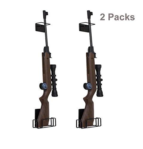 Pack of 2 AmeriGun Club Easy Use Mount Anywhere Shotgun or Rifle Rack (Rifle/2 Pack) by e-onsale