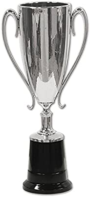 """Beistle Trophy Cup Award, 8.5"""", Silver/"""