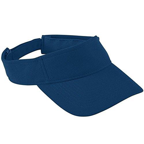 Augusta Sportswear Kids' Adjustable Wicking MESH Visor OS Navy -