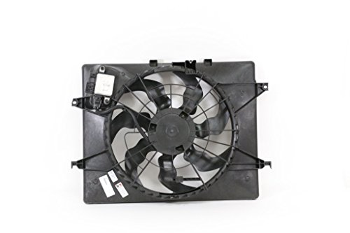 Engine Cooling Fan Assembly - Cooling Direct For/Fit HY3115150 14-14 Hyundai Tucson AT 2.4L 14-15 Kia Optima 2.4L