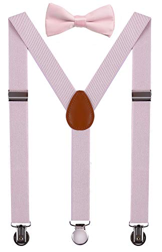 SUNNYTREE Little Boy's Suspenders Adjustable Y Back with