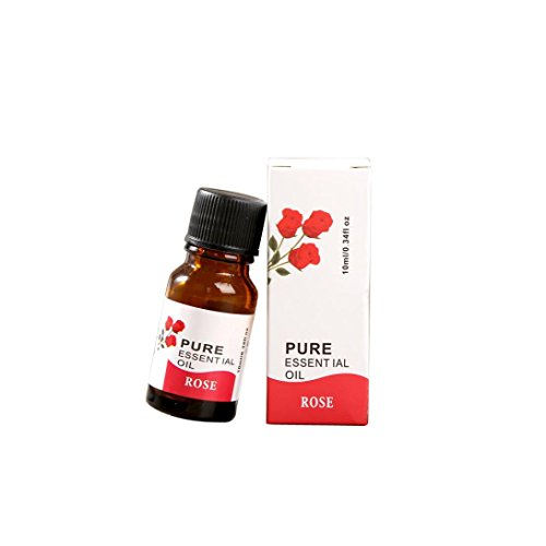 Essential Oil, Lotus.flower 10ML Pure & Natural Water Soluble Herb Oil Therapeutic Grade Aromatherapy Scent for Diffuser Humidifier / Body Massage / Skin Care (Rose)