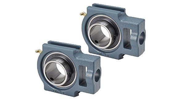 2 Pcs - uct 205/ST25 25 mm de diámetro, giran bloque fundido ...