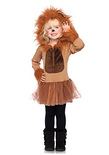 Lion Costume Girl (Leg Avenue Children's Cuddly Lion Costume)