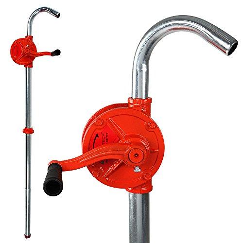 Kurbelfasspumpe Handpumpe mit Förderleistung bis zu 30 l/min, Länge ca. 98cm