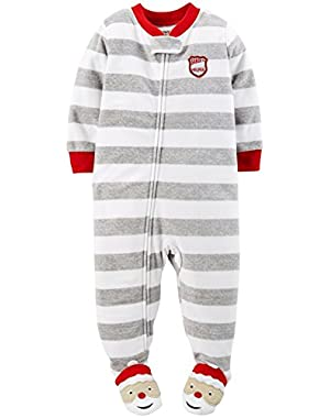 Carter's Baby Boys' Holiday Footie (Baby) - Stripe