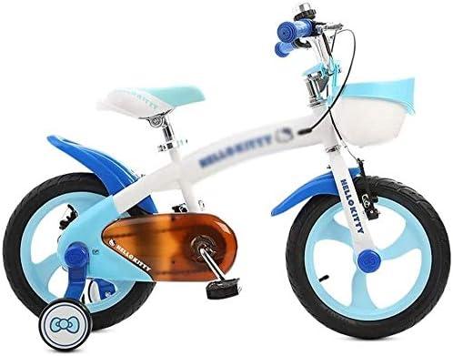 XXCZB Bicicletas Niños Bicicleta al Aire Libre Azul Estudiante Bicicleta de Carretera Preescolar Viaje Bicicleta Viaje Niños Bicicleta 3~15 años Niños Pedal Bicicleta ...