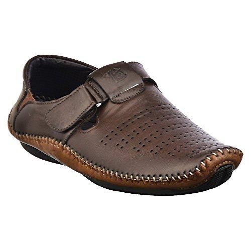 Brandvilla Loafer Shoe Colour Brown (Size-8)