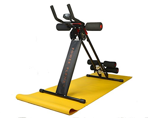 Abdominal+Machine Products : Red Power Plank climber Ab Cruncher with free mat