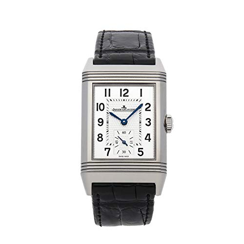 (Jaeger-LeCoultre Reverso Mechanical (Hand-Winding) Silver Dial Mens Watch Q3858520 (Certified Pre-Owned))