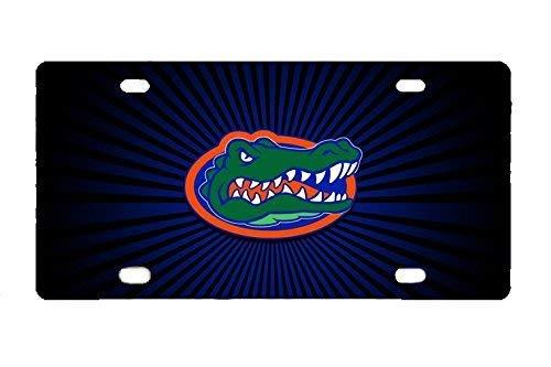 WYTLiMbKframe Durable Florida Gators Metal License Plate Car Tag (Gator Dad License)