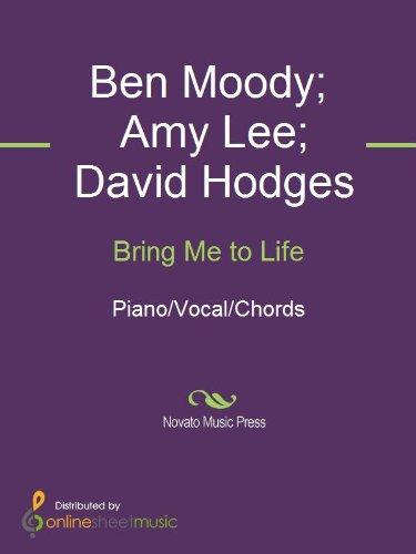 Bring Me To Life Ebook Amy Lee Ben Moody David Hodges