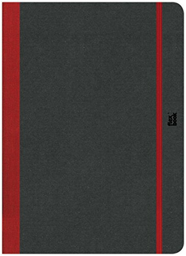 Flexbook Sketchbook, Munken Special White Paper, 6 X 8.5 inches, 80 Sheets, 170 gms, Red (60.00030) by Flexbook