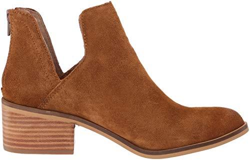 Women's Lancaster Madden Steve Suede Cognac Western Boot UPfqEwqx