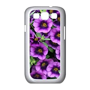 Customized Case Cover for SamSung Galaxy S3 i9300 - Purple bells case 3