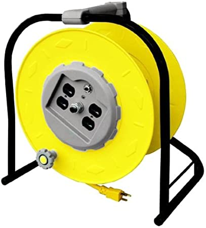 Extension Cord 4 Outlet Multi Power Cable Heavy Duty Breaker Home Electrical