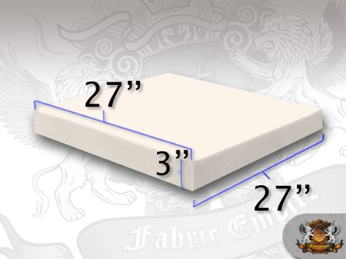 27 x 27 Square Foam Sheets 6 x 27 x 27