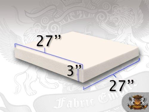 27 x 27 Square Foam Sheets (4 x 27 x 27) Fabric Empire