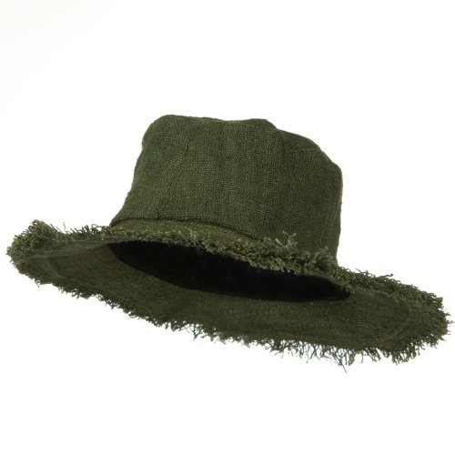 Hemp-Hat-with-Frayed-Brim-Green-W02S30D