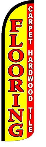 Flooring Carpet Hardwood Tile Standard Windless Swooper (Hardwood Flagpole)