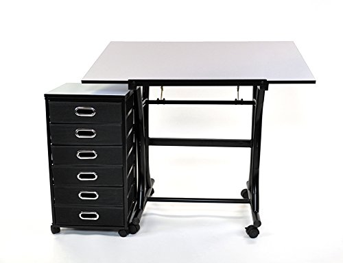 Martin Diamond Creation Craft Center with Taboret by Martin