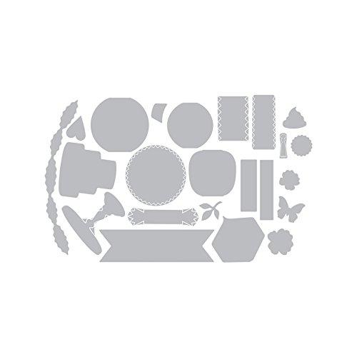 SIZZIX THINLITS LANTERNS BY BRENDA WALTON 23 DIE CUTTING SET NEW 660692