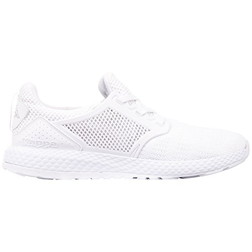 white Adulte Sneakers Kappa Mixte Moxie Basses Blanc 1010 fpWFqYwAS4