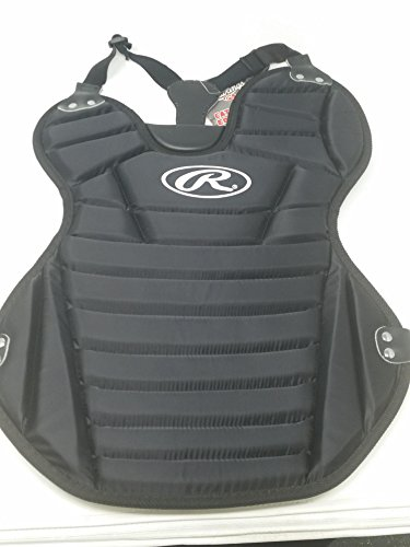 Rawlings New Chest Protector WCPY-B 14'' Black Junior Softball by Rawlings