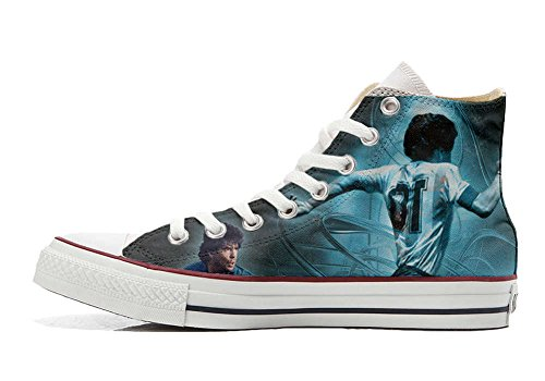 Converse All Star Customized - zapatos personalizados (Producto Artesano) world soccer