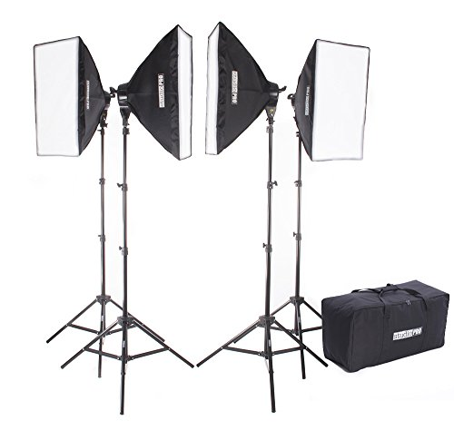 Studiopro 4000 Watt Photography Continuous Studio Softbox