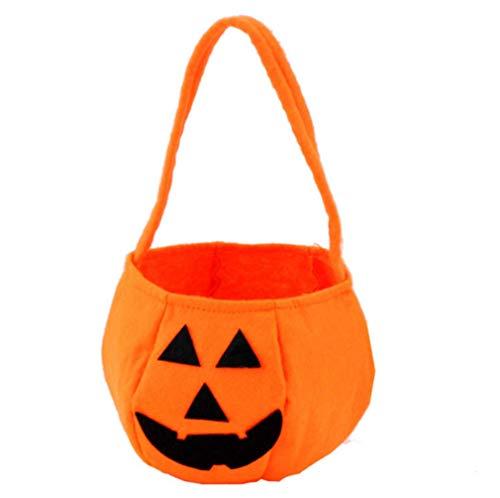 Halloween Pumpkin Trick or Treat Bags Candy Bag