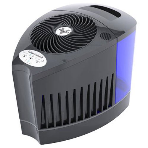 Vornado Evap3 Whole Room Evaporative Humidifier, Black by Vornado