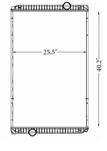 Amazon com: New Navistar Radiator: International Eagle 9200i-9400i