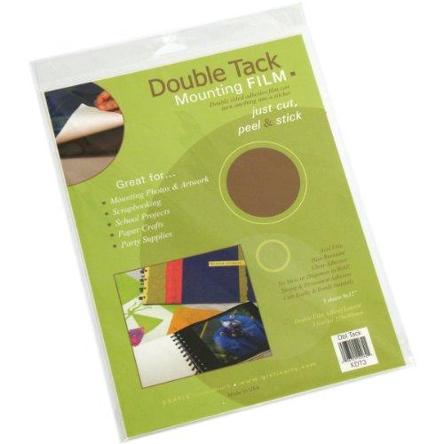 (Grafix Double Tack Mounting Film 9inX12in 3/Pkg)