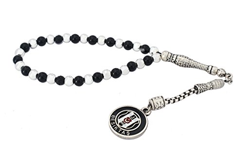 Rosary Prayer Beads Tesbih 'Besiktas' BJK Tasbih Misbaha Subha (Arabic Prayer Beads)