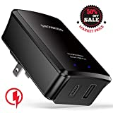 USB C Charger, Snowkids USB Wall Charger with 25W Power Delivery & Quick Charge 3.0 Ports Universal Power Adapter for iPhone Xs/Max/XR/X/8,iPad Pro(2018)/Air 2/Mini,Galaxy S9/S8,Pixel,LG,Nexus & More