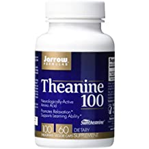 Jarrow Formulas Theanine, Promotes Relaxation, 100 mg, 60 Caps