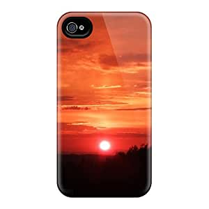 Ultra Slim Fit Hard ElenaHarper Cases Covers Specially Made For Iphone 6- Red Sunset